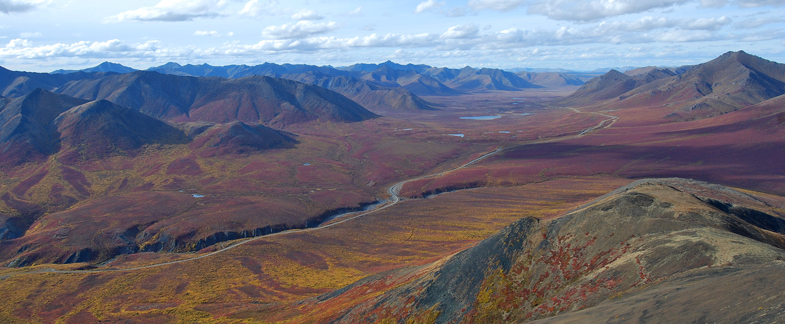 Dempster Hwy from Goldensides