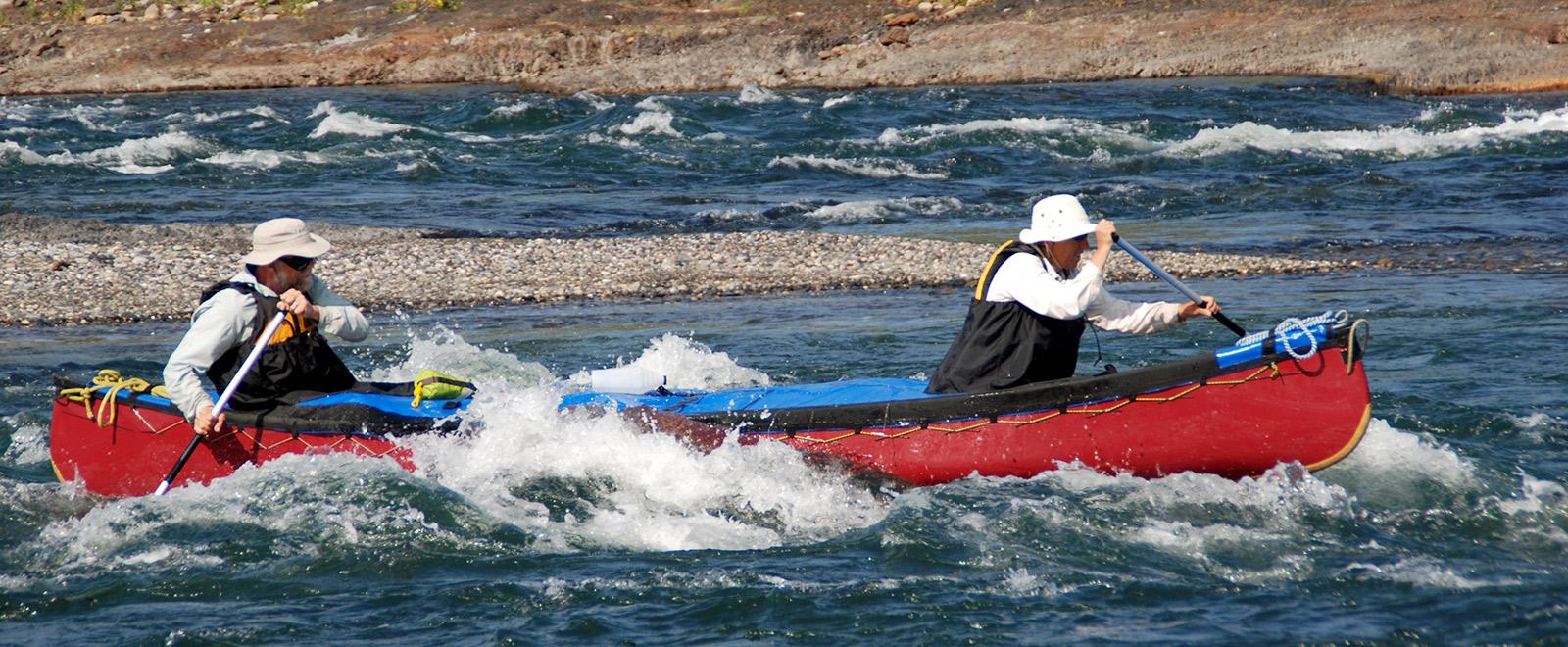 canoe adventure trip