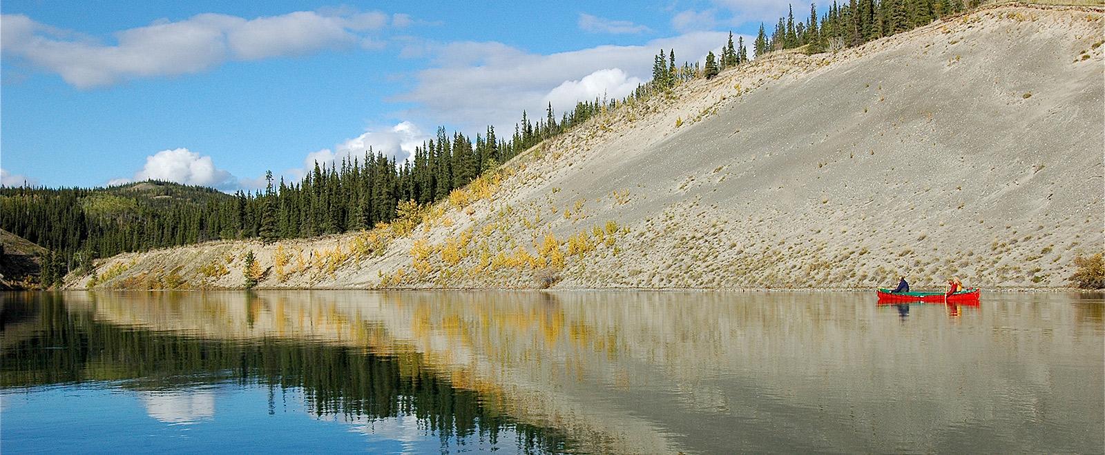 scenic canoeing