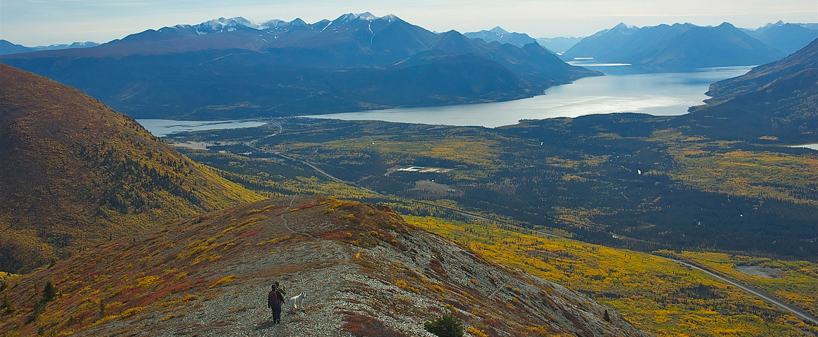 Yukon Landscape hiking