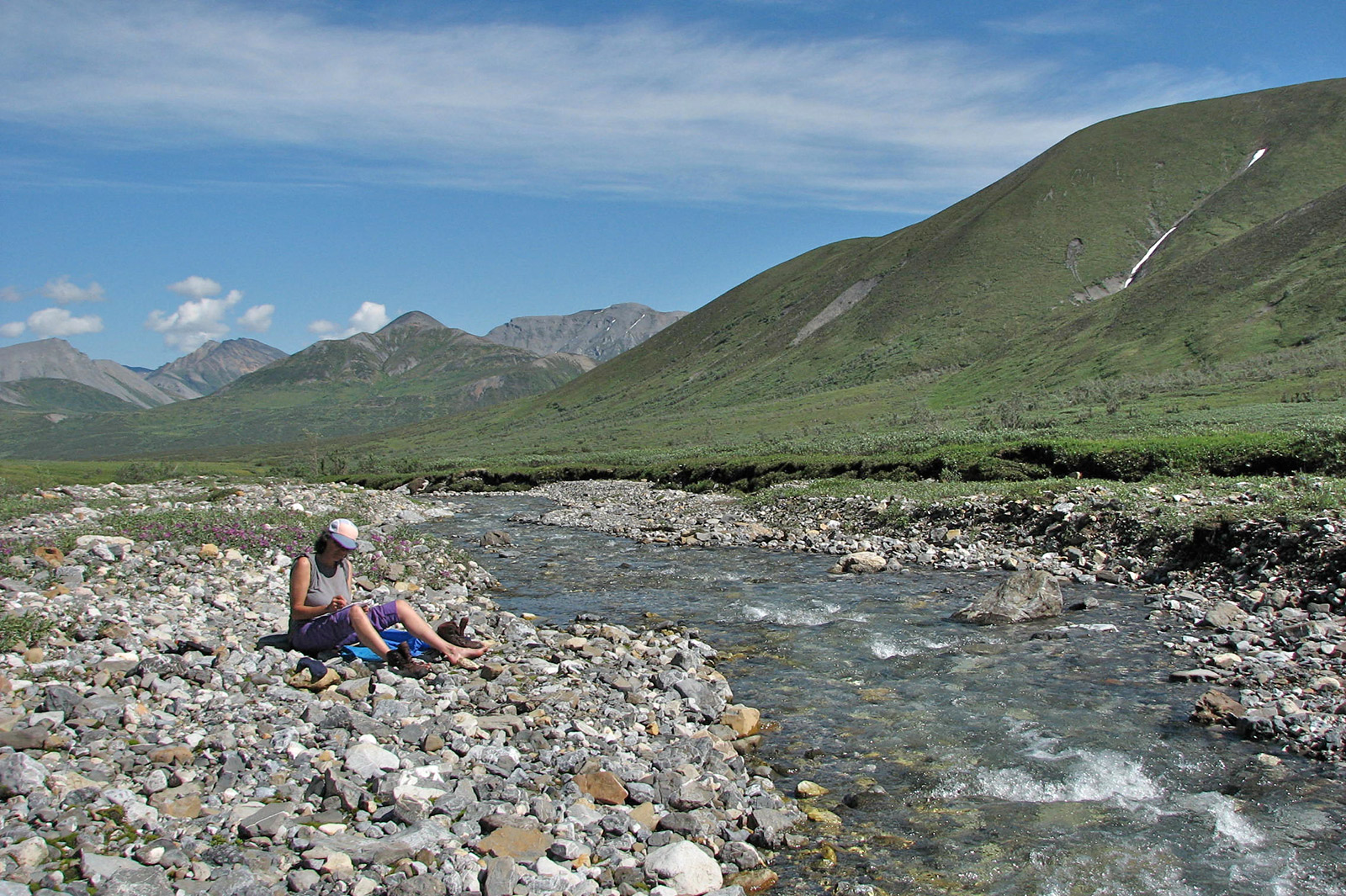 river,hiking