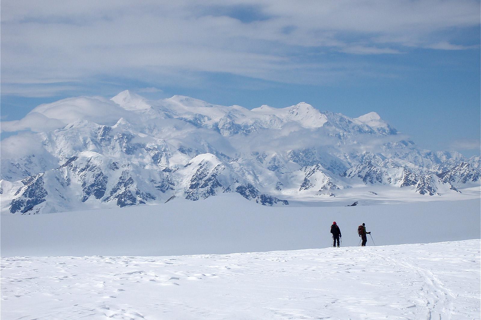 winter,hiking,Yukon mountains
